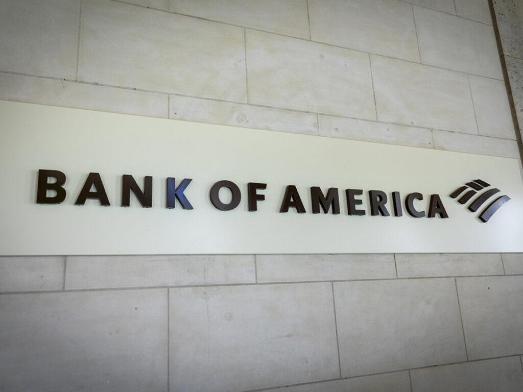 بانک آمریکا و بیت کوین